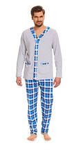 Пижама мужская хлопковая зимняя Dobra Nocka 8016