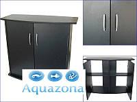 Тумба Природа для аквариума 70х35 черная ПП