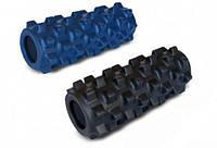 Роллер массажный (Grid Roller) для занятий йогой, пилатесом, фитнесом s