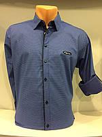 Мужская рубашка стрейч рукав трансформер S,M, фото 1