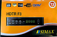 SIMAX HDTR F3 PLASTIK цифровой эфирный DVB-T2 ресивер
