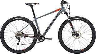 """Велосипед 27,5"""" Cannondale Trail 7 рама - M SGY серый с оранжевым 2018"""