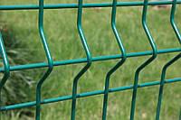 Забор из оцинкованного прута 3/4 мм. с полимерным 2.5 м х 1.2м