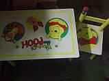 """Детский столик и два стульчика из дерева """"Винни-Пух"""" BB 08806 киев, фото 3"""