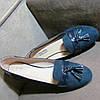 Женские модные замшевые туфли