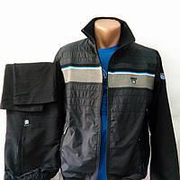 Мужской спортивный костюм со вставками плащевой ткани, производства Турции, размеры 48, 50, 52, 54.