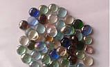 Камни для декора круглые цветные микс малые d 2 см, фото 2