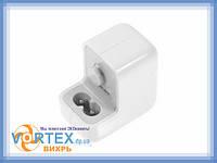 Зарядное устройство сетевое USB 5.1V 2.1A для Apple A1357 A5121W010A05 10W европ. вилка белое новое