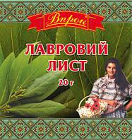 """Лавровый лист 20 г  ТМ """"Впрок"""""""