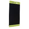 Дисплей (екран) для Sony F3212 Xperia XA Ultra Dual Sim, F3216 Соні + тачскрін, золотистий, оригінал