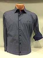 Мужская рубашка стрейч в мелкий рисунок S,XL,2XL, фото 1