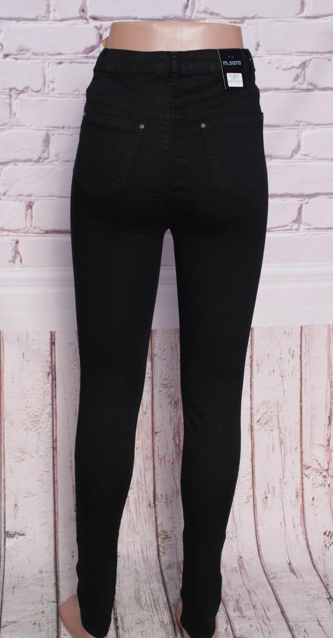 97c5663f468 ... Женские черные джинсы с высокой посадкой