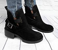 Супер-стильные и удобные ботинки в замше, фото 1