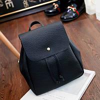 Женский рюкзак маленький черный 2