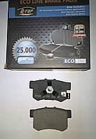 Тормозные колодки задние Honda Accord 2.4 с 2008г, Civic 4D, FR-V