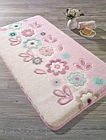 Коврик для ванной 57х100 Confetti - April pembe розовый
