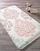 Коврик для ванной 57х100 Confetti - Damask pudra пудра