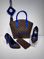 Набор сумка, обувь, кошелек от Louis Vuitton