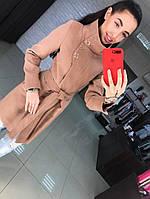 """Женское шикарное пальто """"Паула"""" + большие размеры (4 цвета), фото 1"""