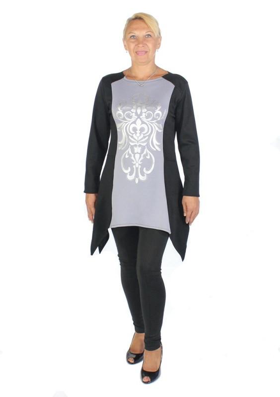 фото teens.ua - узор Анжелика - платье больших размеров для полных девушек и женщин