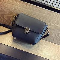 Красивая женская сумочка клатч черная 4