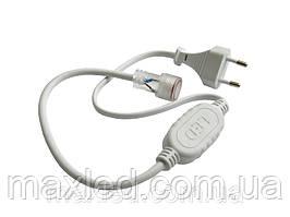 Коннектор для стрічки 5050 в розетку 220В BLISTER