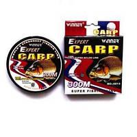 Леска  рыболовная Carp Expert 300m 0.25