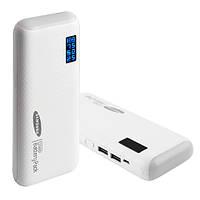 Зарядное устройство Power Bank SAMSUNG 20000 mAh LED дисплей, фонарь/ Внешний аккумулятор Повер банк, батарея