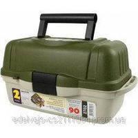 Ящик рыболовный для снастей 2 полки aquatech 2702
