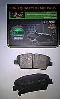 Тормозные колодки задние Hyndai Santa Fe рестайл с 2009, Santa Fe III