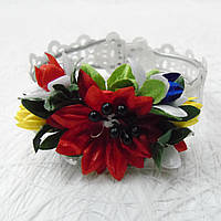 Дитячі браслети з квітами