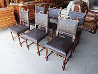 Комплект антикварних стільців