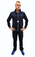 Мужской синий трикотажный спортивный костюм GANT