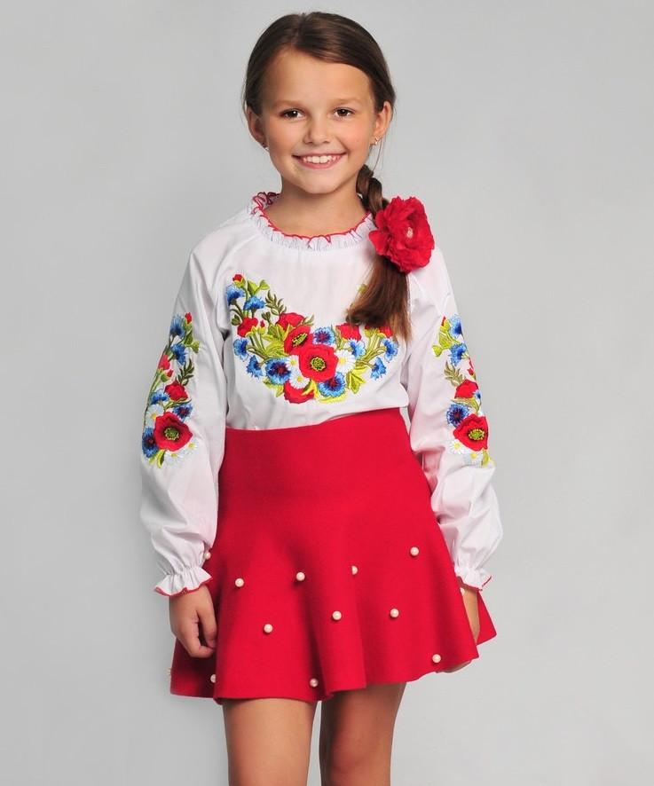 Детская вышиванка в украинском стиле