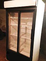 Холодильный шкаф витрина со стеклянными дверьми бу Frigorex