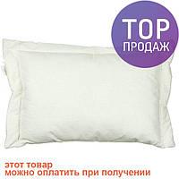 Подушка детская силиконовая белая 40х60 / аксессуары для детской