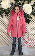 """Детская зимняя куртка """"Тифани"""", 2 цвета"""