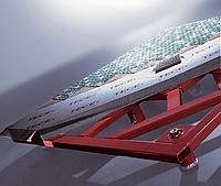 Комплект из основы TECEdrainboard под мозаику, 900х900х40