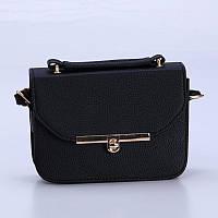 Женская маленькая сумочка черная 510 опт, фото 1