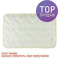 Подушка силиконовая для новорожденного Сердечко 40Х60 / аксессуары для детской