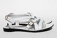 Спортивные белые сандали 31-12бел