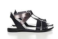 Черные сандалии 16-01