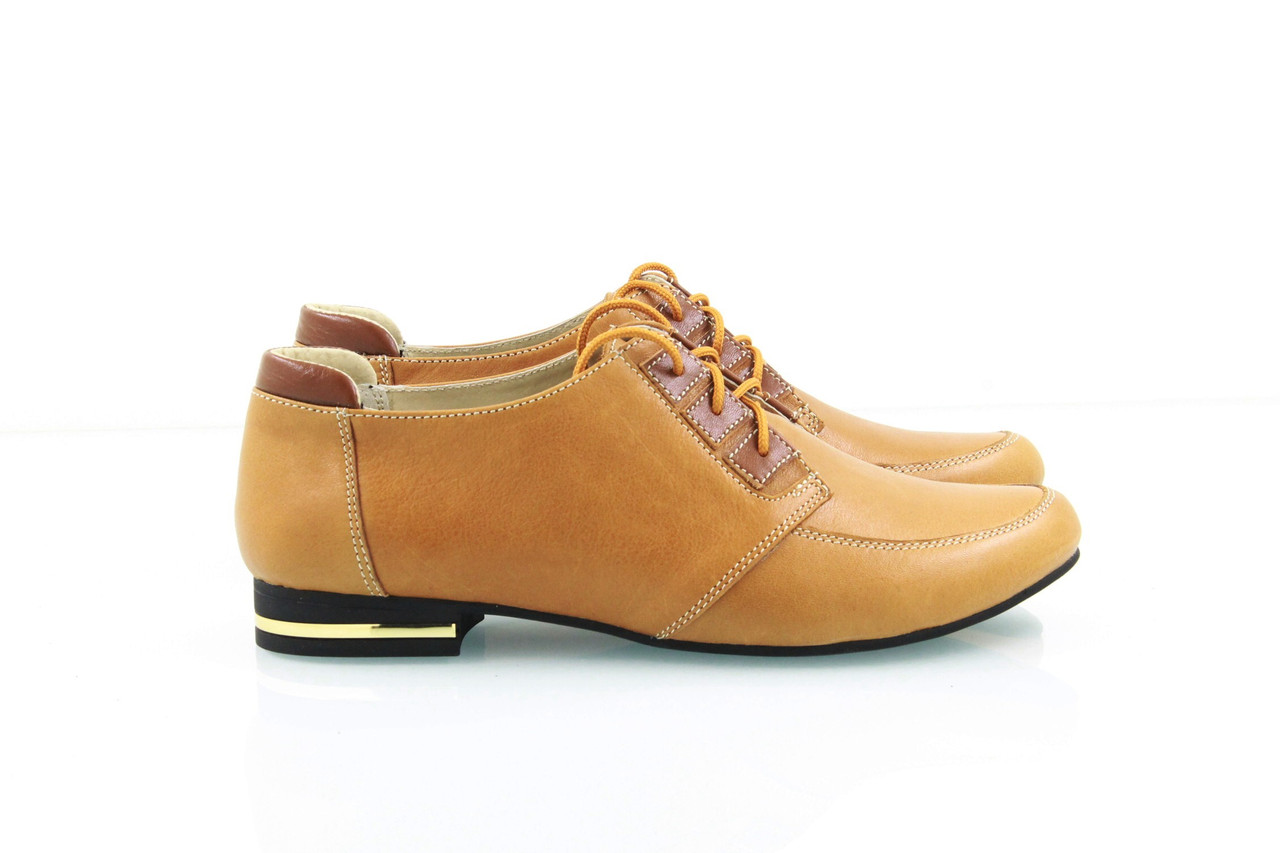 Рыжие женские туфли 1012-11, цена 955 грн., купить в Харькове — Prom ... b16b7ec67a4
