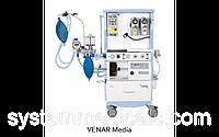 Наркозно-дыхательный аппарат VENAR MEDIA NEW (3Т), VENAR MEDIA NEW (EFA), CHIRANA
