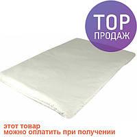 Подушка для новорожденного белая 40х60 / аксессуары для детской
