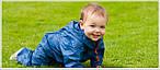 Отправляясь в путешествие, обязательно возьмите дождевик ребенку!