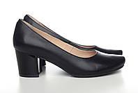Кожаные Туфли  на каблучке 513-17