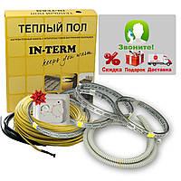 Теплый пол электрический Греющий кабель In-term ECO 116 м. (11,6 - 18,6 м²) 2330 Вт, фото 1