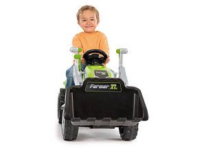 Трактор педальный c прицепом и ковшом Farmer XL Smoby 710109, фото 2