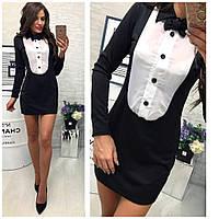 Стильное платье делового стиля